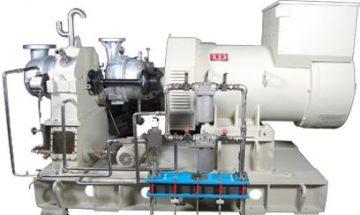 Steamturbine -3